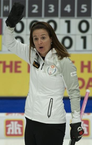 Heather Nedohin picked up a big win on Friday night. (Photo, CCA/Michael Burns)