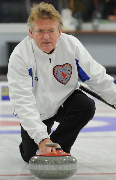 B.C.'s Keith Switzer picked up a crucial win Sunday night.  (Photo, CCA/Claudette Bockstael, Studio C Photography)