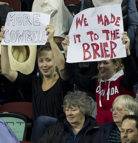 Fans are getting their money's worth in the late stages of the 2015 Tim Hortons Brier. (Photo, Curling Canada/Michael Burns)