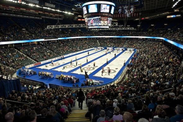 2015, Calgary Ab, Tim Hortons Brier, Curling Canada/michael burns photo