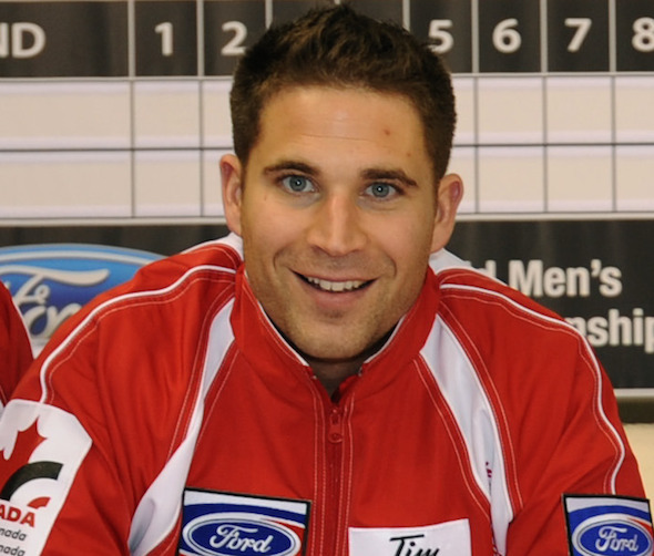 John Morris will be the skip of Team Canada at the 2015 Tim Hortons Brier, presented by SecurTek, the 2014 Canada Cup of Curling and the 2015 WFG Continental Cup. (Photo, CCA/Michael Burns)