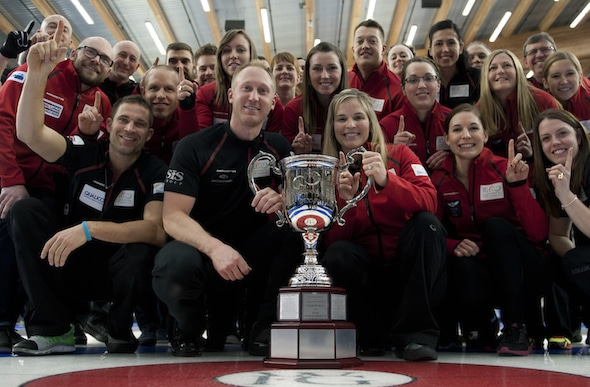 Team Canada and the World Financial Group Continental Cup. (Photo, CCA/Michael Burns)