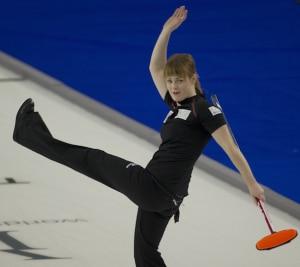 Dawn McEwen was getting her kicks on Saturday. (Photo, CCA/Michael Burns)