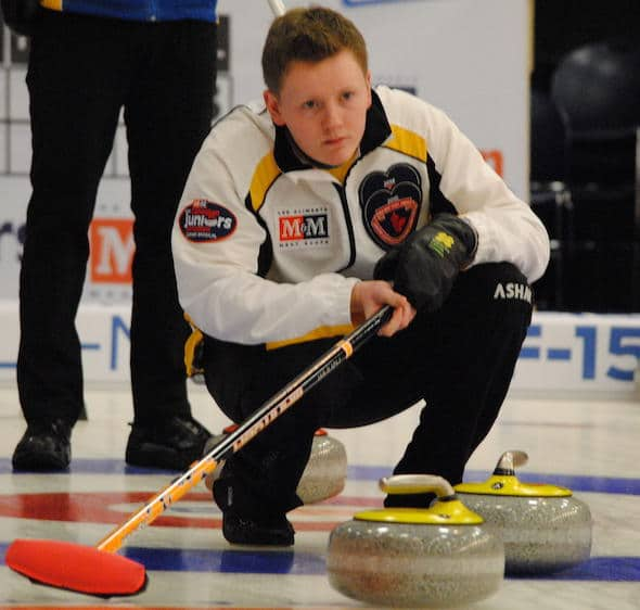 Manitoba's Braden Calvert will take aim at back-to-back gold medals on Sunday night. (Photo, Amanda Rumboldt)