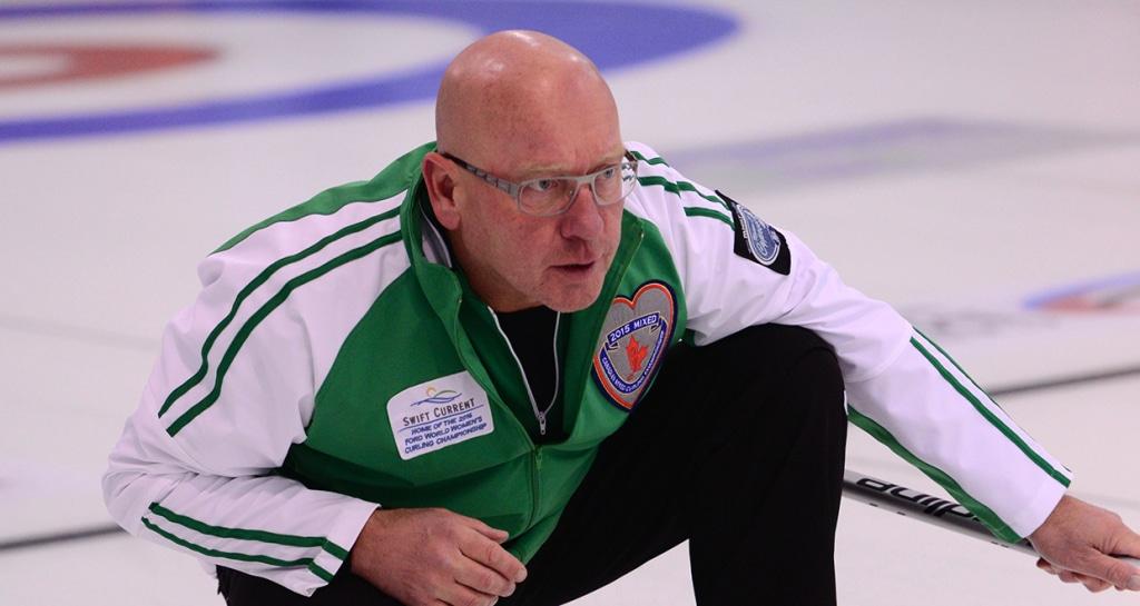 Saskatchewan skip Max Kirkpatrick (Brian Doherty Photography)