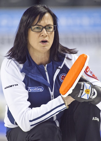 Nova Scotia's Mary-Anne Arsenault.