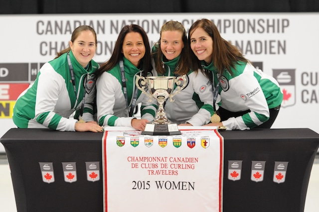 Team PEI: skip Lisa Jackson, third Carolyn Coulson, second Melissa Morrow, lead Jodi Murphy (Curling Canada/Claudette Bockstael Photo)