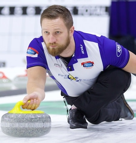 Charley Thomas is stepping into the Team Gushue lineup for the 2016 Home Hardware Canada Cup. (Photo, Anil Mungal)