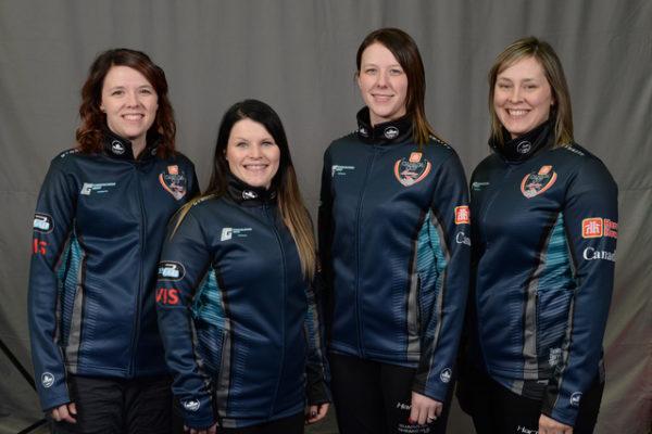 Home Hardware Canada Cup 2018TEAM SCHEIDEGGER Lethbridge Curling Club, Alberta Skip: Casey Scheidegger Third: Cary-Anne McTaggart Second: Jessie Haughian Lead: Kristie Moore .    Curling Canada/michael burns photo