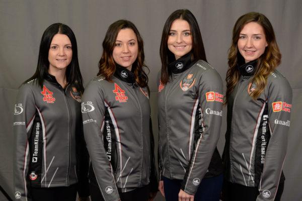 Home Hardware Canada Cup 2018TEAM EINARSON Gimli, Manitoba Skip: Kerri Einarson Third: Val Sweeting Second: Shannon Birchard Lead: Briane Meilleur Curling Canada/ michael burns photo