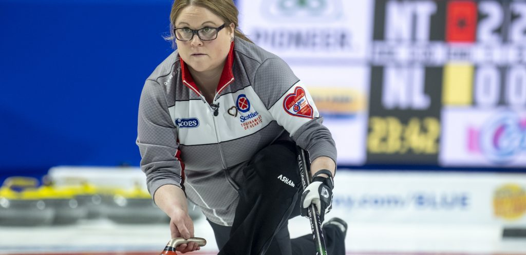2020 Scotties Tournament of Hearts |   Big win for NWT!