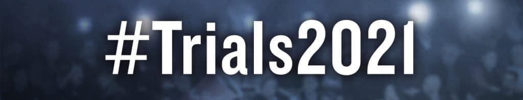 #Trials2021 is the hashtag for the event