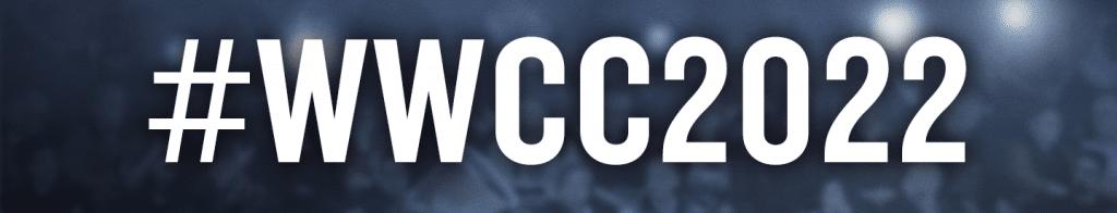 Event hashtag #WWCC2022