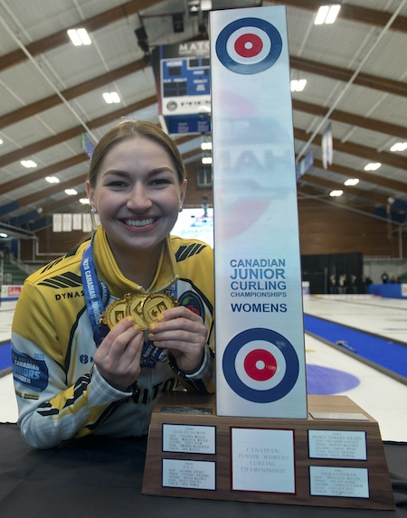 Curling Canada Three Times A Champ