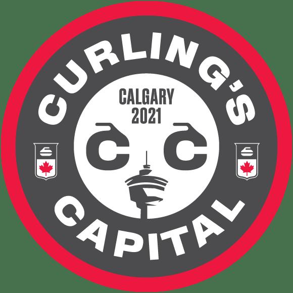 Curling's Capital Calgary 2021 logo