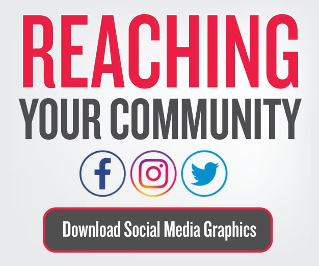 Download social media graphics.