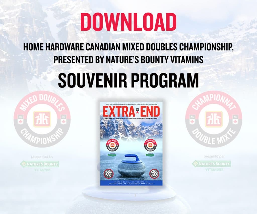 Download the Home Hardware Canadian Mixed Doubles Championship, presented by Nature's Bounty Vitamins, souvenir program.