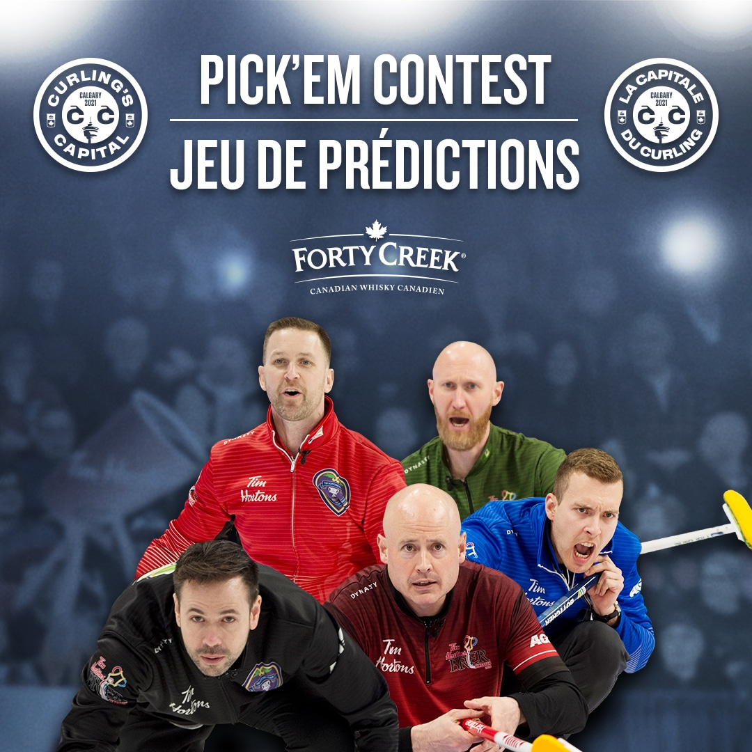 Pick'Em Contest, presented by Forty Creek