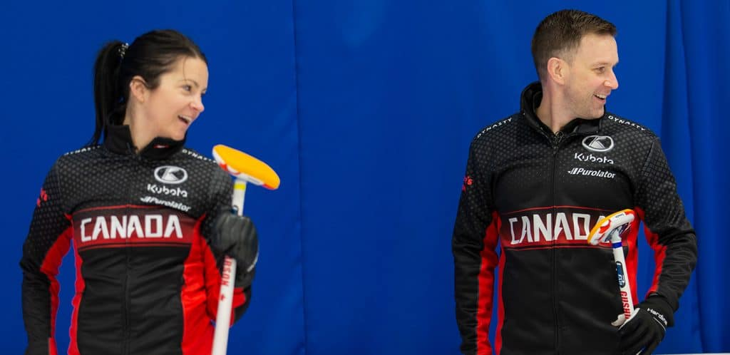 Curling Canada |   Strong effort from Canada!