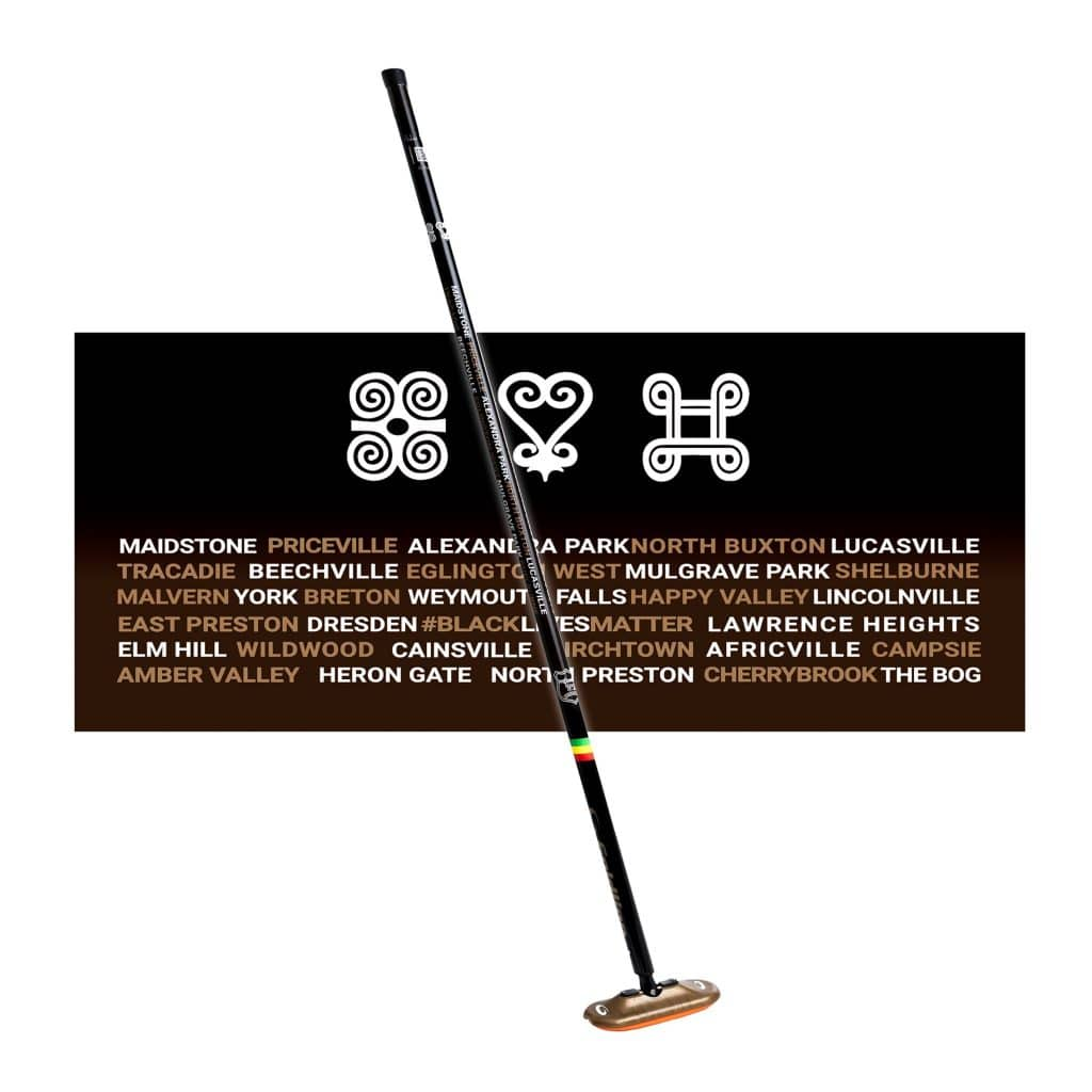The Desmond broom, designed by Andrew Paris as part of Goldline's UnitedWeCurl initiative