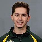 Victoria B.C.Jan27_2017.Canadian Junior Curling Champiship.Northern Ontario second Nick Bissonnette.Curling Canada/michael burns photo