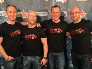 "Thanks to the generosity of Canadian curlers who bought ""Got Gold"" T-shirts, 10 scholarships are now available (CCA Photo)"