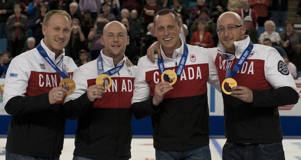 Canadian olympic curling team 2014
