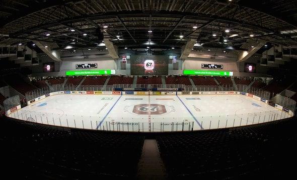 Place TD à Ottawa sera l'hôte de 2016 Brier Tim Hortons, il a été annoncé aujourd'hui. (Photo, gracieuseté Place TD)