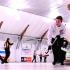 Sarah Wark et Michelle Allen de Colombie-Britannique, sur la glace à la 12e ronde du championnat canadien de curling mixte (Brian Doherty Photography)