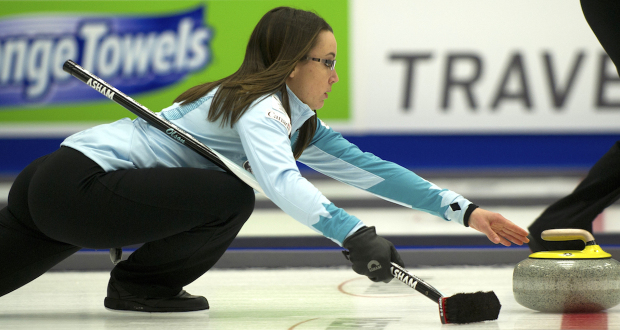 2014 Home Hardware Canada Cup of Curling, Camrose, Val Sweeting, CCA/michael burns photo