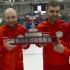 2014 Home Hardware Canada Cup of Curling, Camrose, Mike McEwen, B.J.Neufeld, Matt Wozniak, Denni Neufeld, CCA/michael burns photo