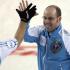 Kamloops B.C.Mar7_2014.Tim Hortons Brier.Quebec skip Jean-Michel Menard,lead Phillipe Menard.CCA/michael burns photo