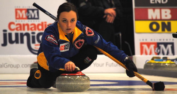 Rocque solid so far at 2015 M&M Meat Shops Canadian Juniors - Canadian Curling Association (press release) (blog)