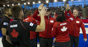 2015 World Financial Group Continental Cup Curling, Calgary AB, Team Canada, CCA/michael burns photo