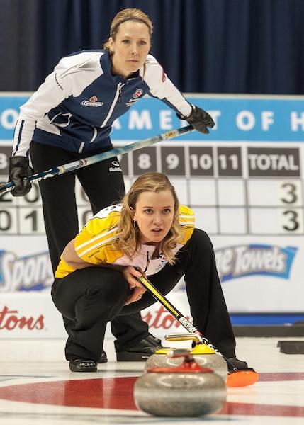 Heather Smith and Chelsea Carey (CCA/Andrew Klaver Photo)