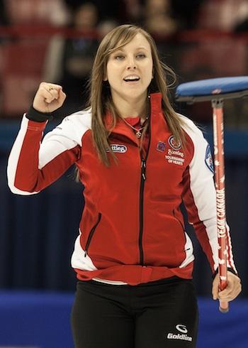 Rachel Homan et son équipe d'Ottawa est à la recherche de gagner son troisième titre Scotties droites. (Photo, ACC / Andrew Klaver)
