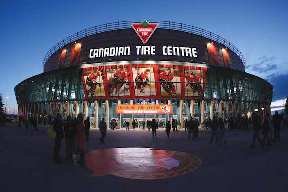 Ottawa Senators vs Calgary Flames