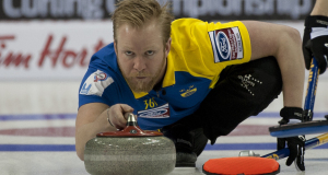 2015, Halifax N.S. Ford Men's World Curling Championship. Sweden skip Niklas Edin, Curling Canada/michael burns photo