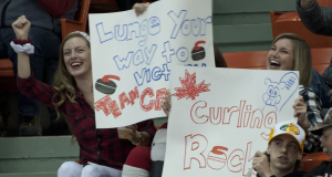 2015, Halifax N.S. Ford Men's World Curling Championship, Canada Fans, Curling Canada/michael burns photo