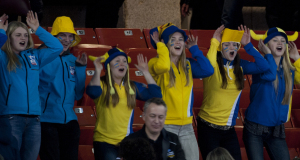 2015, Halifax N.S. Ford Men's World Curling Championship, Swedish Curling Fans, Curling Canada/michael burns photo