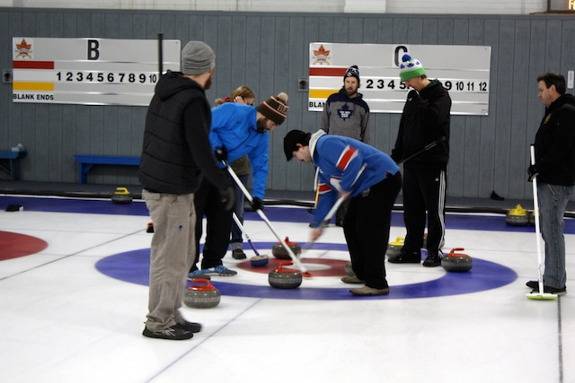 """Lots of action in the house during the afternoon """"bar league"""" at The Royals in Toronto (Photo Brian Chick)"""
