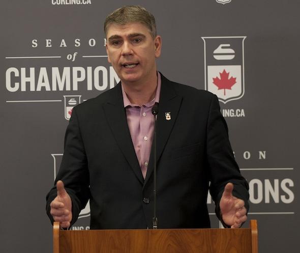 Greg Stremlaw a annoncé aujourd'hui qu'il quittera en tant que PDG de Curling Canada. (Photo, Curling Canada / Michael Burns)