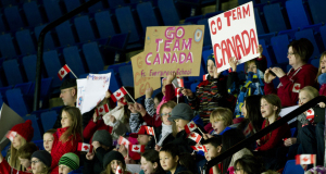 2015, Calgary Ab, Tim Hortons Brier, Curling Fans, Curling Canada/michael burns photo