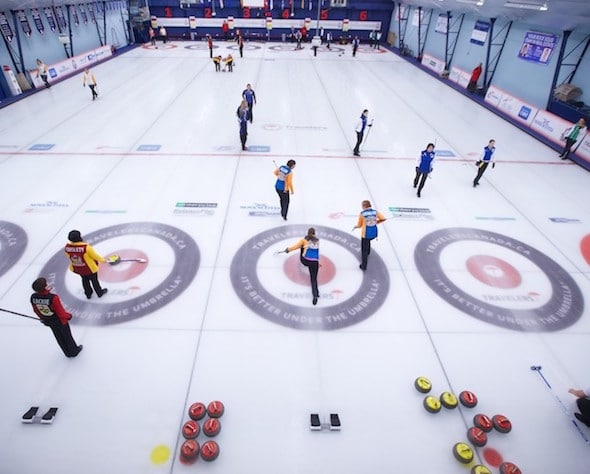 The 2015 Travelers Curling Club Championship will take place in Ottawa. (Photo, Travelers/Anil Mungal)