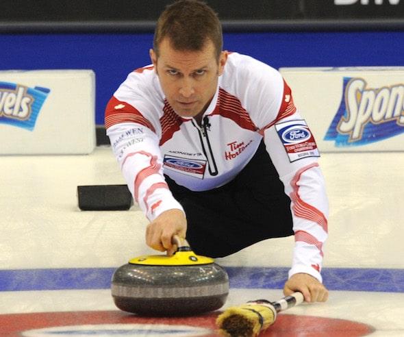 Jeff Stoughton servira de gestionnaire de programme de doubles mixte de Curling Canada. (Photo, Curling Canada / Michael Burns)