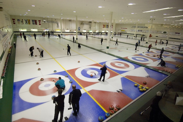 The Kelowna Curling Club will play host to Canada's best university curling teams next spring. (Photos, courtesy Kelowna Curling Club)