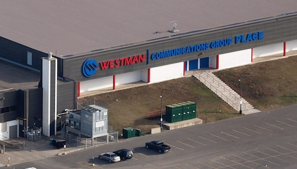Westman Communications Group Place in Brandon, Man., will play host to the 2016 Home Hardware Canada Cup, it was announced today. (Photos, courtesy Westman Communications Group Place)