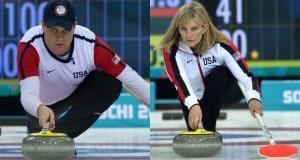 Sochi Ru.Feb17-2014.Winter Olympic Games.Team USA,skip John Shuster.WCF/michael burns photo
