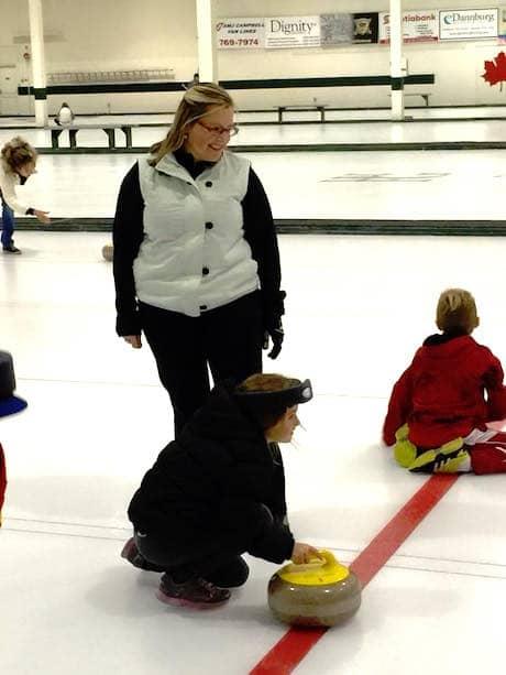 apprendre le curling  u00e0 kelowna  c