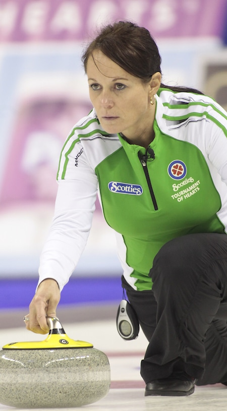 Michelle Englot's team took top spot at the Yi Chun International Bonspiel in China. (Photo, Curling Canada/Michael Burns)